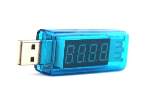 Bestope Portable Digital Led Usb Voltage Current Multimeter,Usb Meter 2.0/3.0 Amp Volt Led Reader,Usb Power Meter Usb Tester Monitor For Smartphone Tablet Gadget Charging Status (Style6)
