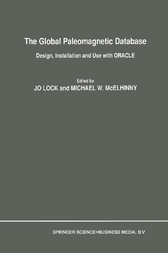 The Global Paleomagnetic Database: Design, Installation and Use with ORACLE