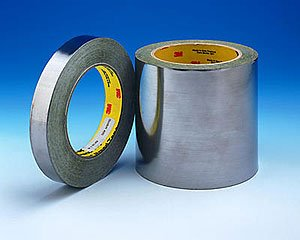 Olympic Tape(TM) 3M 420 6in X 5yd Dark Silver Lead Foil Tape (1 Roll)