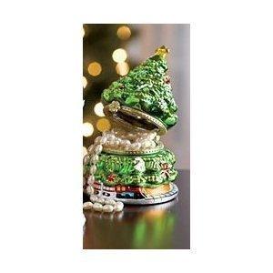 Mr. Christmas Porcelain Music Gift Box - Christmas Tree