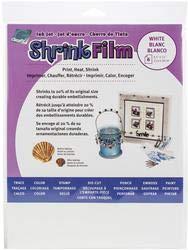 Grafix Bulk Buy Ink Jet Shrink Film 8.5 inch x 11 inch 6 Pack White KSF6-WIJ (2-Pack) (Color: white)