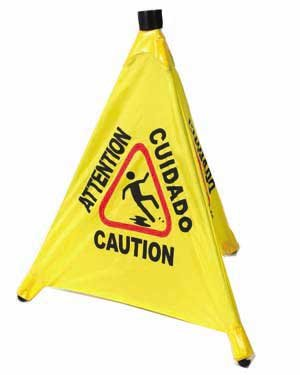 Winco Caution Sign 18.5 inch Length