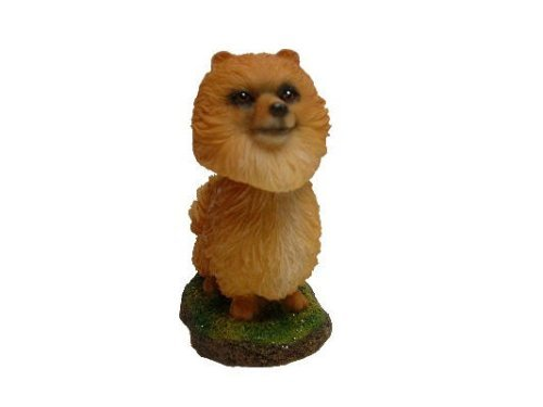 Mini Bobble Head Dog Pomeranian - 1