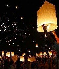 Sky Lanterns 10 Pack Assorted Colors