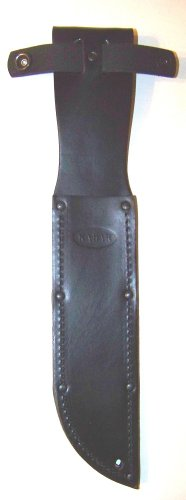 Ka-Bar Black Leather Sheath Only For 7.00 In. Blade