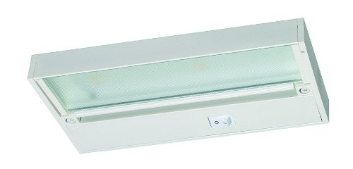 Juno Lighting UPL09-WH Pro-Series LED Under cabinet Fixture, 9-Inch, 2-Lamp (Designer White)