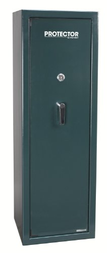 First Alert 6720F Protector Executive Gun Safe with Bolt-Down Kit, 6.8-Cubic Foot,  Hunter Green