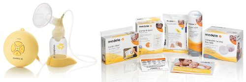 Medela Swing Single Electric Breast Pump Solution Set With Bonus Kit And Accessories With Bonus Breast Care Kit From Mom And Baby Shop