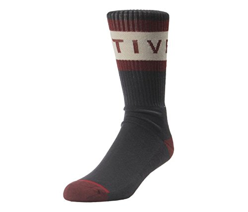 Active R/S Foam Socks in Charcoal/Maroon - OS (Active Ride Shop Clothing compare prices)