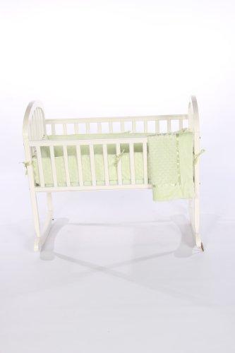 Imagen de Baby Doll Bedding Set Cuna Heavenly Soft, Sage
