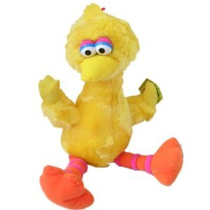 Sesame Street Big Bird Plush 9 Inch Stuff Doll
