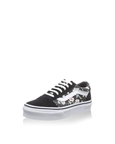 Vans Sneaker K Old Skool schwarz/weiß/rosa EU 34.5 (US 3.5)