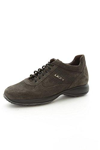 Lion 7650 Sneakers Uomo Camoscio Graphite Graphite 41