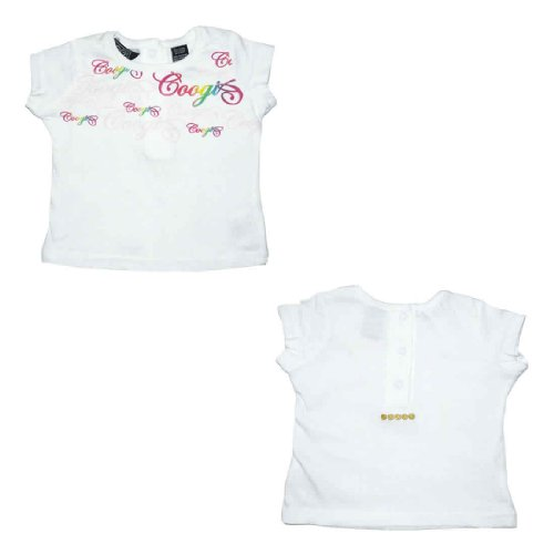 Coogi Baby / Infant Girls Short Sleeve T-shirt / Tee - White