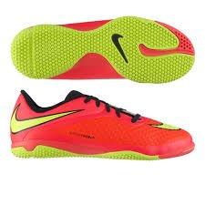 699811-690 Nike JR Hypervenom Phelon IC Bright Crimson / Volt |US 5,5y EUR 36