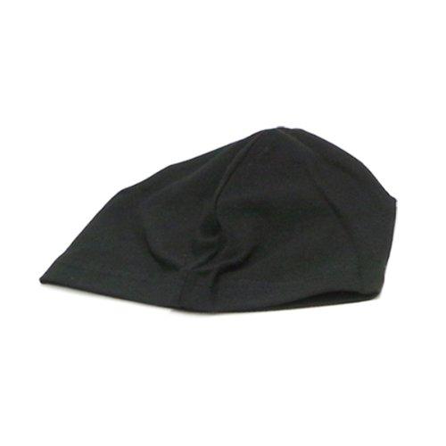 (スパンデックス)SPANDEX CAP BLACK コットンスパンデックスキャップ ブラック 無地 3329