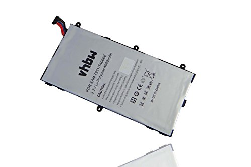 vhbw Batterie 4000mAh (3.7V) tablette Netbook Samsung Galaxy Tab 3 Kids Galaxy Tab 3 7.0 SM-T210 SM-T2105 SM-T210R SM-T211 comme AAaD429oS/7-B, T4000E