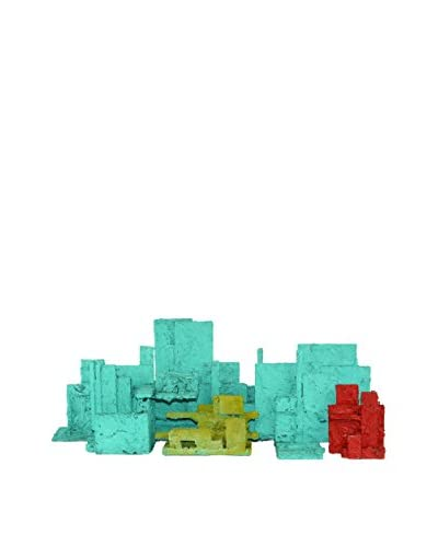 Uptown Down Vintage 8-Piece Cityscape Sculpture Set