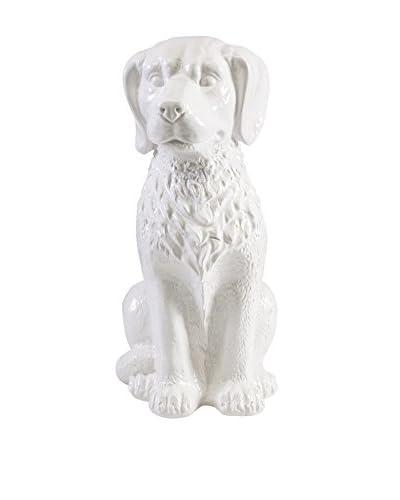 Franklin Ceramic Dog Statuary