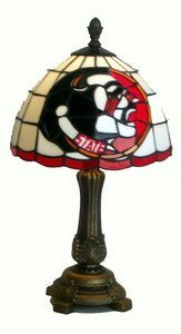 Florida St Seminoles Stained Glass Tiffany Accent Lamp