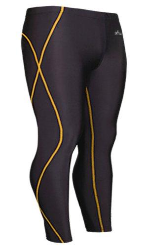 Emfraa Skin Tights Compression Leggings Running Base Layer Pants Men Women S ~ 2XL