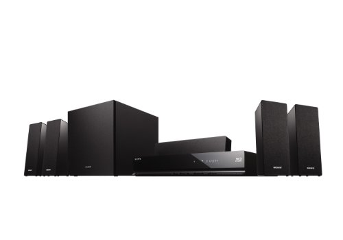 Sony BDVE280.CEK 3D Blu-Ray Disc/DVD 5.1ch Home Cinema BRAVIA Internet Video with iPod Dock