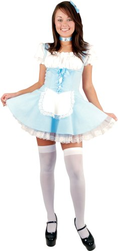 Teen Alice In Wonderland Costume (Size: 3-5)
