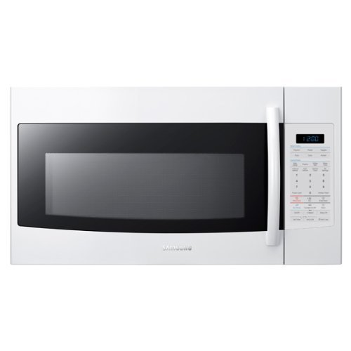 Discover Bargain Samsung SMH1816 1.8 Cu. Ft. Over the Range Microwave with Sensor Cooking, White