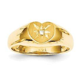 Genuine IceCarats Designer Jewelry Gift 14K Child's
