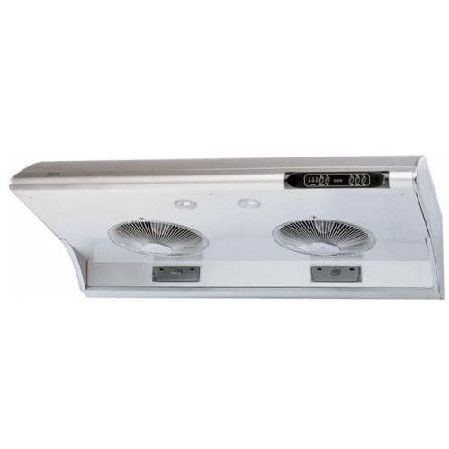 Zephyr AK2100A 850 CFM 30 Inch Wide Under Cabinet Range Hood with Halogen Lighti, Stainless Steel