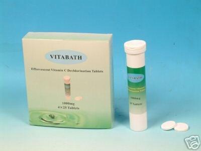 Vitamin C Dechlorination Bath Tablets By Vitashower