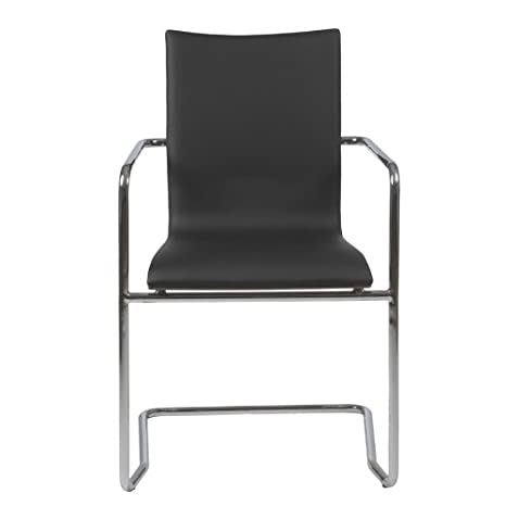MADGE ARMCHAIR; BLK/WAL/CHR