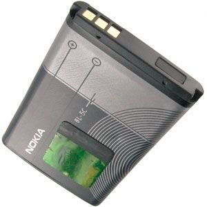 Amazon.com: OEM Nokia Replacement Battery for Nokia 1100 - BL-5C: Cell