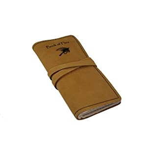 Genuine Leather Book of Flies (Fly Keeper) - Made in the USA