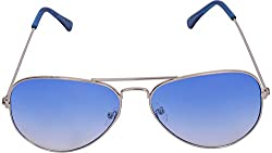 VISACH Unisex Aviator (Blue) (Aviator Blue1)