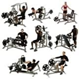 Body Solid Leverage Commercial Gym Room
