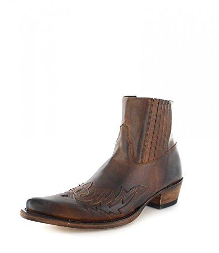 Sendra Boots 12251, Stivali uomo Marrone marrone 38.5, Marrone (teak), 47