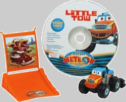 Take Along Bigfoot Presents Meteor & The Mighty Monster Trucks Little Tow with Launching Ramp (Includes bonus DVD) - 1