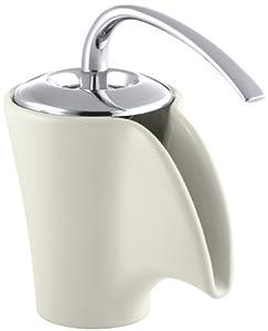KOHLER K-11010-96 Vas Ceramic Faucet, Biscuit - Touch On