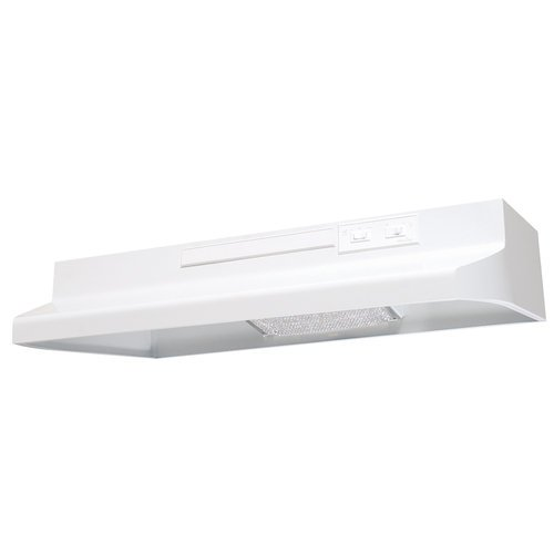 Air King AV1423 Advantage Convertible Under Cabinet Range Hood with 2-Speed Blower and 180-CFM, 7.0-Sones, 42-Inch Wide, White Finish