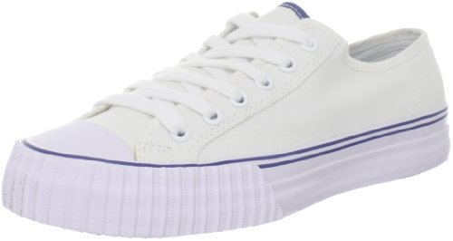 PF Flyers Men's Center Lo Fashion Sneaker,White,10 D US