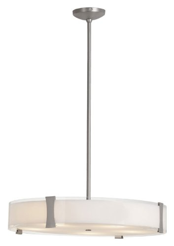 Access Lighting 50124-BS/OPL 5 Light Tara Large Pendant Light