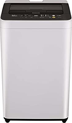 Panasonic NA-F62B3HRB Fully-automatic Top-loading Washing Machine (6.2 Kg, White and Grey)