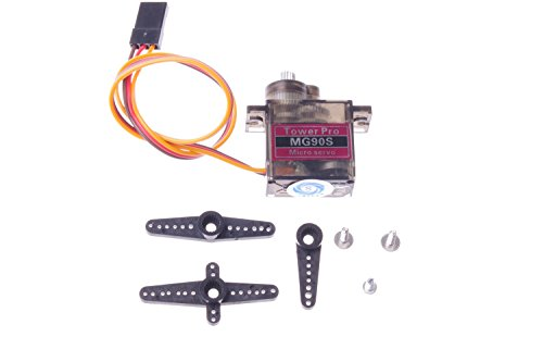 SMAKN® MG90S Metal Geared Micro Servo For RC Car Boat Plane Helicopter Trex450