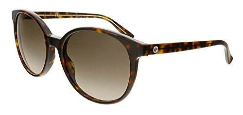 Gucci Sunglasses - 3722 / Frame: Havana Beige Lens: Brown Gradient