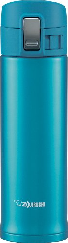 Zojirushi Sm-Kb48Aw Stainless Steel Travel Mug, 16-Ounce/0.48-Liter, Marine Blue back-563831