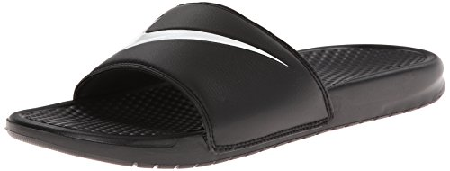 Nike Men's NIKE BENASSI SWOOSH SLIDE SANDALS