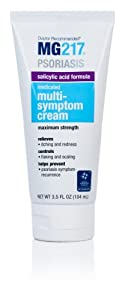 MG217 Psoriasis Medicated Salicylic Acid Formula Multi-Symptom Cream, 3.5 Fluid Ounce brought to you by MG