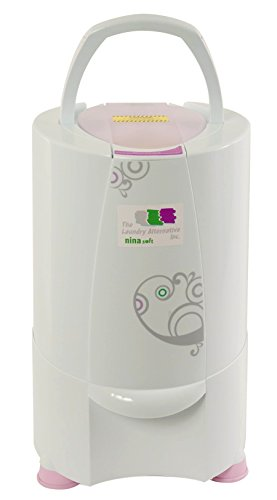 The Laundry Alternative Nina Soft Spin Dryer, Ventless Portable Electric Dryer. 3 Year Warranty, 110V Apartment Size, Saves You Time And Money!
