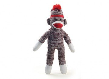 8 Inch Classic Style Sock Monkey by PL
